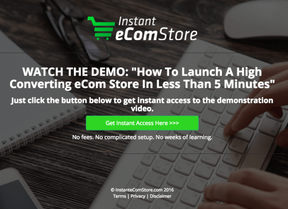 Instant eCom Store Review